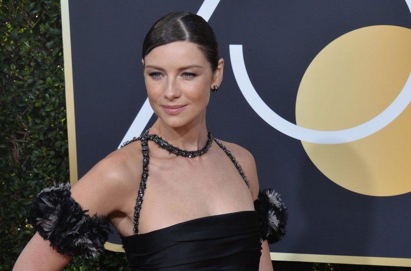 Caitriona Balfe confirms engagement at Golden Globes - UPI com