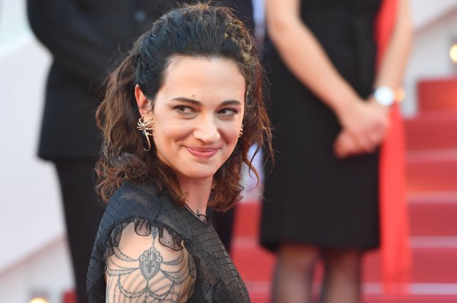 Asia Argento has been dropped as a judge on the Italian version of X Factor. File Photo by Rune Hellestad/ UPI