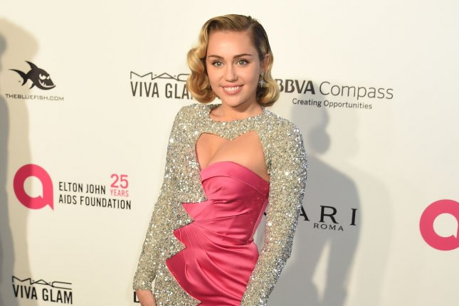 Miley Cyrus has lost property due to the California wildfires alongside Gerard Butler. File Photo by Gregg DeGuire/UPI