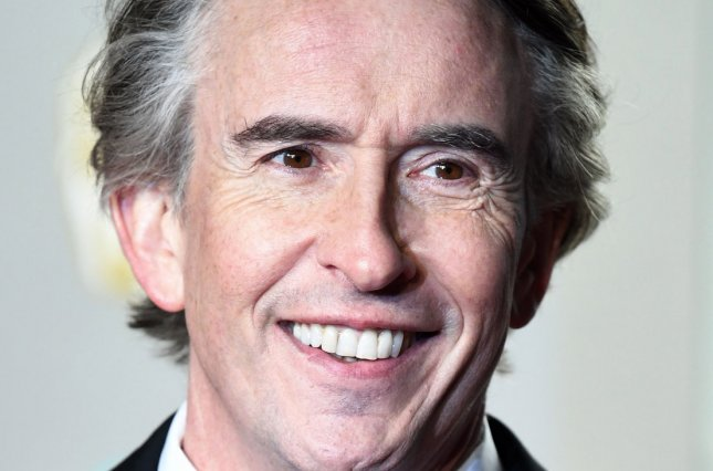 Steve Coogan will be honored with the Charlie Chaplin Britannia Award for excellence in comedy at the Britannia Awards in October. File Photo by Rune Hellestad/UPI