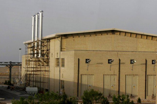 Officials in Iran cited the possibility of sabotage after the Natanz nuclear facility lost power on Sunday. File Photo by UPI