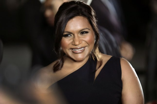 Mindy Kaling will executive produce a new office comedy series inspired by the Los Angeles Lakers. File Photo by Peter Foley/UPI