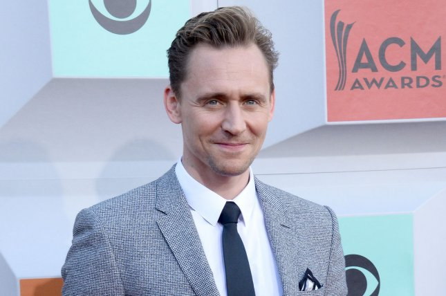 Tom Hiddleston at the Academy of Country Music Awards on April 3. The actor plays Loki in the Marvel cinematic universe. File Photo by Jim Ruymen/UPI
