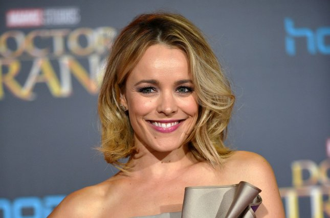 Rachel McAdams arrives at the world premiere of Marvel Studios' Doctor Strange in Los Angeles on October 20, 2016. The actress is now working on the action-comedy Game Night. File Photo by Christine Chew/UPI