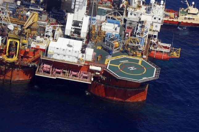 U.S. oil from the Gulf of Mexico is competing with Middle East suppliers in the Asian economy, data and analysis find. File photo by A.J. Sisco/UPI