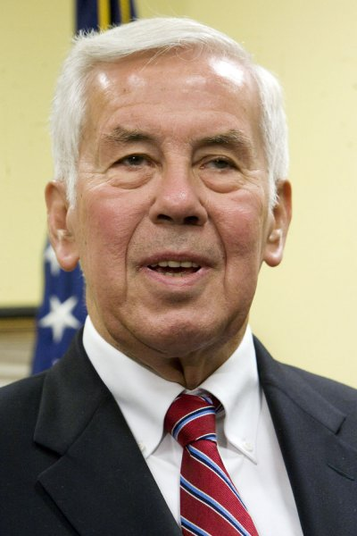 File photo of Senator Sen. Richard Lugar dated May 21, 2008. (UPI Photo/Patrick D. McDermott)
