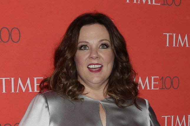 Melissa McCarthy at the TIME 100 gala on April 26. The actress will star in a female-led Ghostbusters reboot. File Photo by John Angelillo/UPI