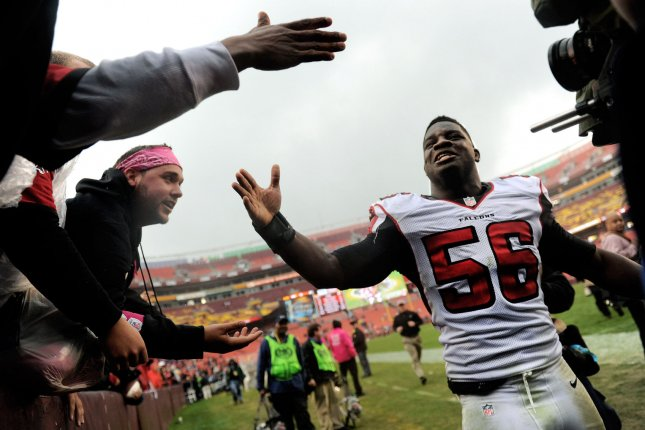 Atlanta Falcons LB Sean Weatherspoon ruptured Achilles 2d2944f67