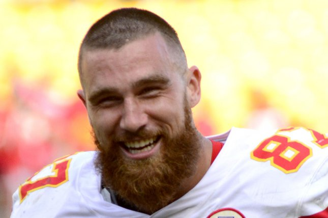 Kansas City Chiefs tight end Travis Kelce is my No. 2 fantasy football option for Week 9. File Photo by Archie Carpenter/UPI