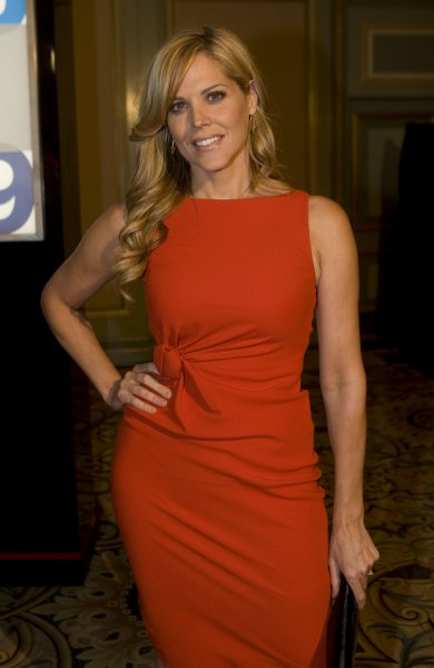 Actress Mary McCormack, star of In Plain Sight, announced her third pregnancy. UPI/Hector Mata