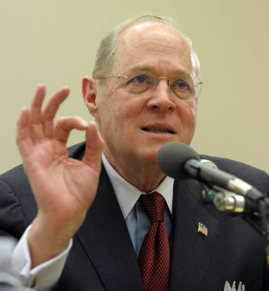 Supreme Court Justice Anthony Kennedy (UPI Photo/Roger L. Wollenberg)
