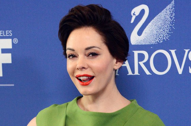 Actress Rose McGowan made her directorial debut with the short film Dawn and hopes to win an Oscar for it. UPI/Jim Ruymen