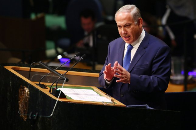 Israeli Prime Minister Benjamin Netanyahu on Monday ordered the formation of a committee that will legally expedite the demolition of homes belonging to Palestinians who attack Israelis in response to escalating violence in Jerusalem and Palestinian territories. Photo by Monika Graff/UPI