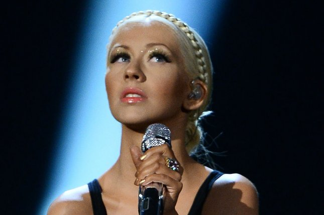 Christina Aguilera at the American Music Awards on November 24, 2013. The singer is working on her eighth studio album. File Photo by Jim Ruymen/UPI
