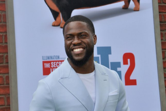 Kevin Hart tops the Forbes list of highest-earning stand-up comedians. File Photo by Jim Ruymen/UPI