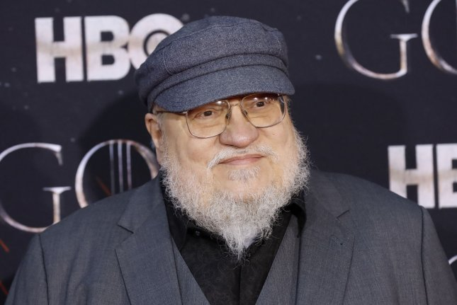 George R.R. Martin, pictured, has been working on a script for a Game of Thrones play with playwright Duncan MacMillan. File Photo by John Angelillo/UPI