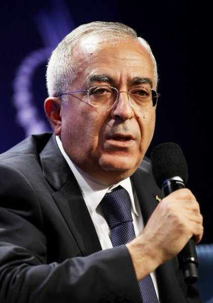 Palestinian Authority Prime Minister Salam Fayyad said plans are under way to declare an independent Palestinian state next year. UPI /Monika Graff