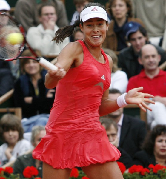 Ana Ivanovic of Serbia,, shown winning the French Open, takes the favorite role into next week's U.S. Open. (UPI Photo/ David Silpa)