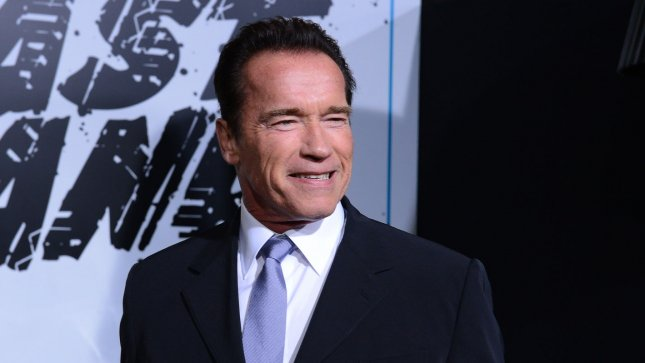 Arnold Schwarzenegger, a cast member in the motion picture crime thriller The Last Stand attends the premiere of the film at Grauman's Chinese Theatre in the Hollywood section of Los Angeles on January 14, 2013. UPI/Jim Ruymen