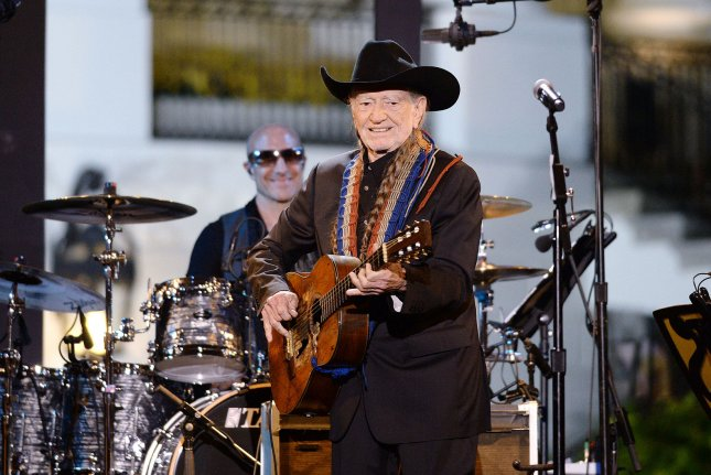 An all-star lineup has assembled to pay tribute to Willie Nelson, pictured here, including John Mellencamp and George Strait. File Photo by Olivier Douliery/Pool