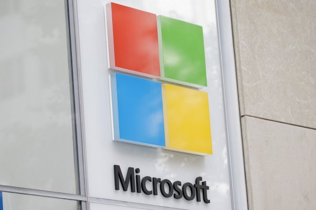 Microsoft won a $10 billion contract from the Defense Department for cloud computing. File Photo by John Angelillo/UPI