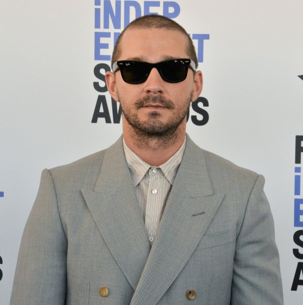 Shia LaBeouf's The Tax Collector is the No. 1 movie in North America this weekend. File Photo Jim Ruymen/UPI