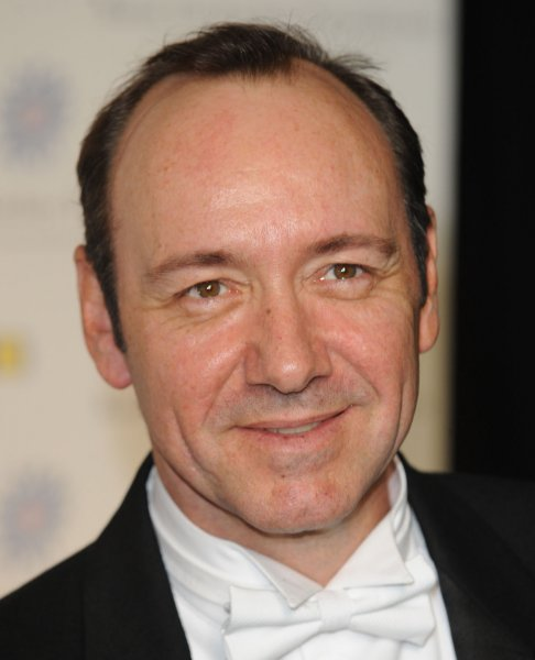 American actor Kevin Spacey attends the Raisa Gorbachev Foundation Gala Dinner at Hampton Court Palace in London on June 7, 2008. (UPI Photo/Rune Hellestad)