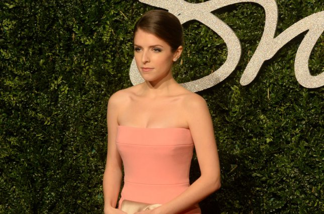 American actress Anna Kendrick discussed the qualities to avoid in men in her cover interview for the February issue of Fashion magazine. File photo by Rune Hellestad/UPI