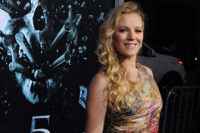 Emma Bell, a cast member in Final Destination 5, attends the premiere of the film in Los Angeles on August 10, 2011. A reboot of the franchise is in the works. File Photo by Jim Ruymen/UPI