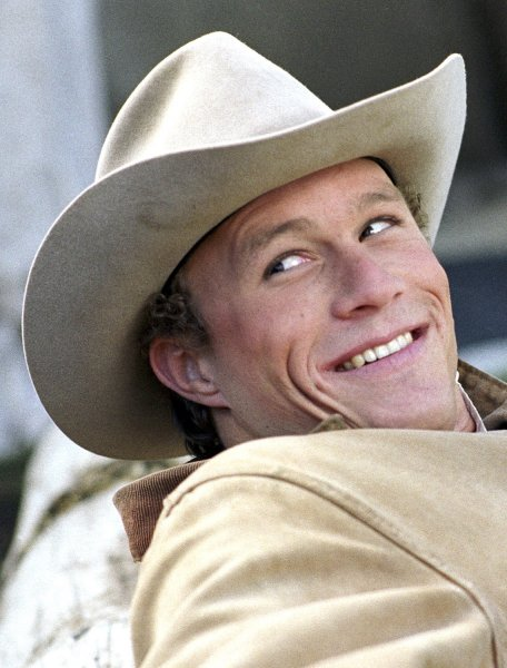 Australian actor Heath Ledger, shown in a scene from Brokeback Mountain in this undated publicity photo, died at the age of 28 on January 22, 2008. Ledger was found dead at a downtown Manhattan residence in a possible drug-related death, police said. (UPI Photo/Focus Features/Handout/Files)