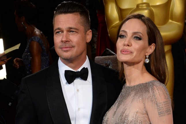 Celebrity couple Brad Pitt and Angelina Jolie will co-star in By the Sea, which Jolie is also directing. They are pictured here at the 86th Academy Awards March 2, 2014. UPI/Jim Ruymen