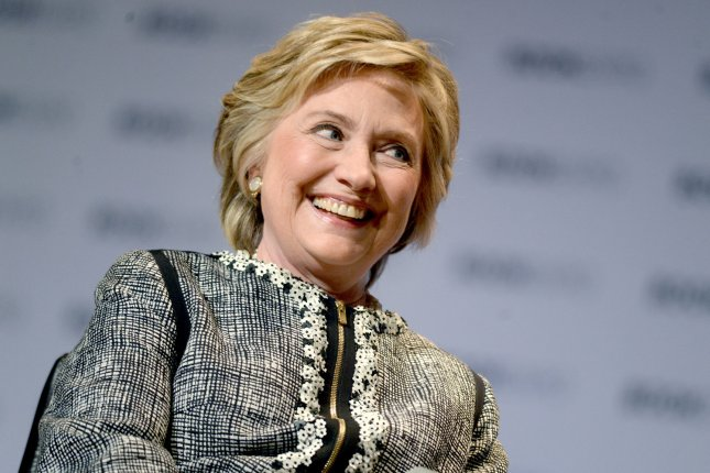 Former Secretary of State Hillary Clinton will receive the Radcliffe medal from Harvard. File Photo by Dennis Van Tine/UPI