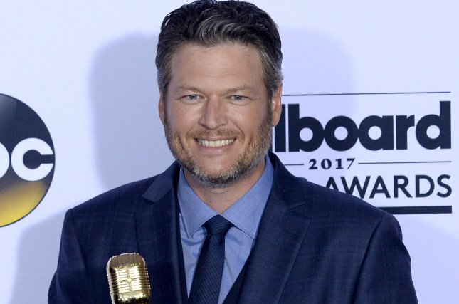Recording artist Blake Shelton -- pictured here at last month's Billboard Awards -- picked up the top prize at the CMT Awards gala Wednesday night. File Photo by Jim Ruymen/UPI