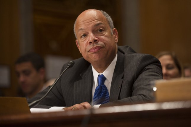 Jeh Johnson testifies before the Senate Homeland Security and Governmental Affairs Committee during his confirmation hearing to be the next Secretary of Homeland Security on Capitol Hill in Washington, D.C. on November 13, 2013. If confirmed Johnson would replace Secretary Janet Napolitano who left DHS in September. UPI/Kevin Dietsch
