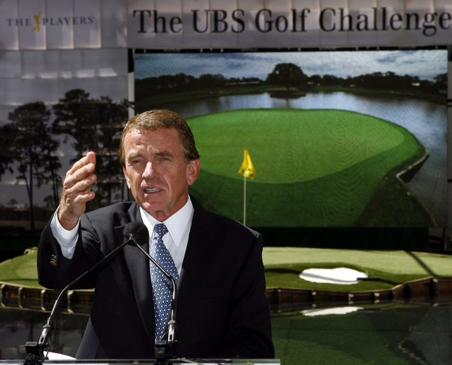 PGA Tour Commissioner Tim Finchem, shown in a 2007 photo, Monday announced the PGA Tour wouldn't stop in the Atlanta area in 2009 are 42 years of tournaments in the area.