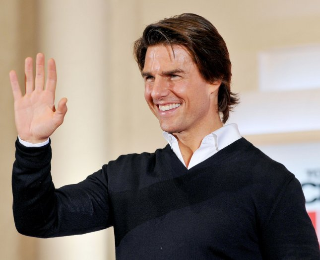Actor Tom Cruise, one of the stars of Rock of Ages. UPI/Keizo Mori