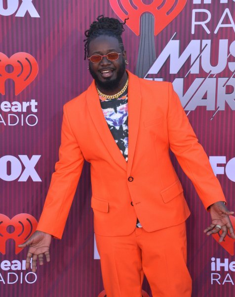Rapper T-Pain was crowned the winner of the U.S. version of The Masked Singer in March. A British adaptation of the show is in the works for 2020. File Photo by Jim Ruymen/UPI
