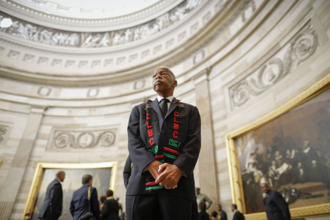 Rep. John Lewis' love for his country was undeniable. File Pool Photo by Pablo Martinez Monsivais/UPI
