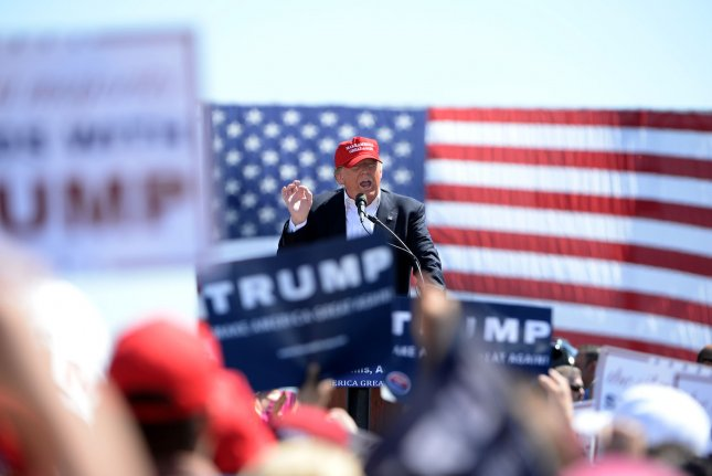 If Donald Trump is denied the Republican nomination, the chances are good that he will run as a third-party candidate. Photo by Art Foxall/UPI