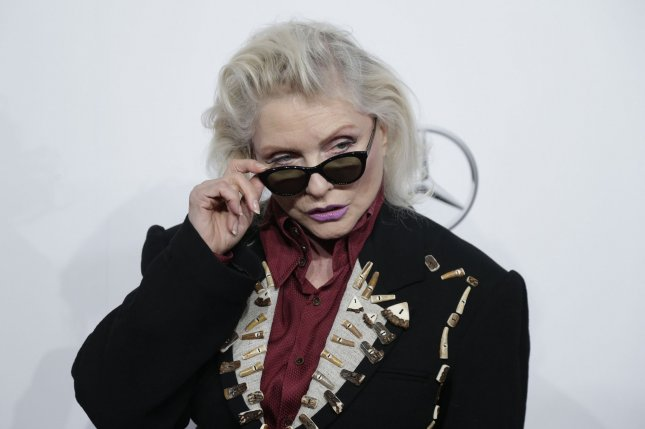 Debbie Harry arrives on the red carpet at the Billboard Women in Music 2016 event on December 9, 2016, in New York City. She turns 75 on July 1. File Photo by John Angelillo/UPI