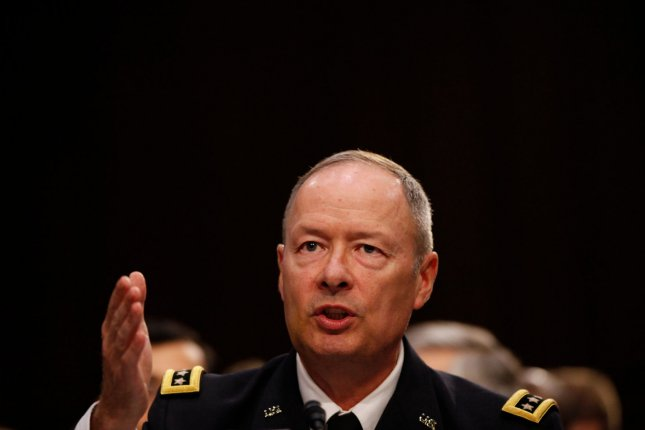 General Keith Alexander, Director of the National Security Agency, testifies before the Senate Intelligence Committee on Foreign Intelligence Surveillance Act (FISA), on Capitol Hill in Washington D.C., September 26, 2013. UPI/Molly Riley