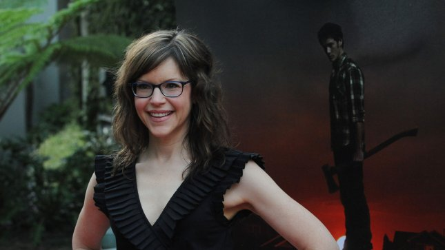 Actress Lisa Loeb, a cast member in the motion picture horror comedy Fright Night, attends the premiere of the film at the ArcLight Cinerama Dome, in the Hollywood section of Los Angeles on August 17, 2011. UPI/Jim Ruymen