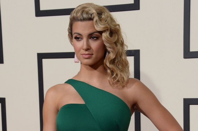 Tori Kelly arrives for the 58th annual Grammy Awards on February 15, 2016. Kelly has released a new song and music video that pays tribute to Christina Grimmie. File Photo by Jim Ruymen/UPI