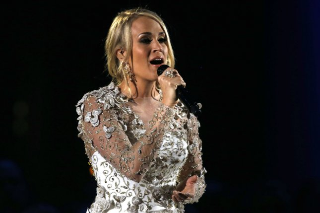 Carrie Underwood showed a glimpse of her scars in a new photo. File Photo by John Sommers II/UPI
