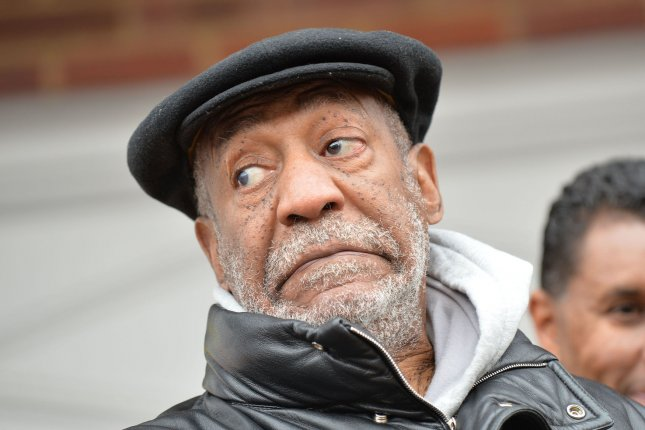 Actor Bill Cosby faced interruptions from hecklers during his comedy show in Baltimore on March 27. File photo by Kevin Dietsch/UPI