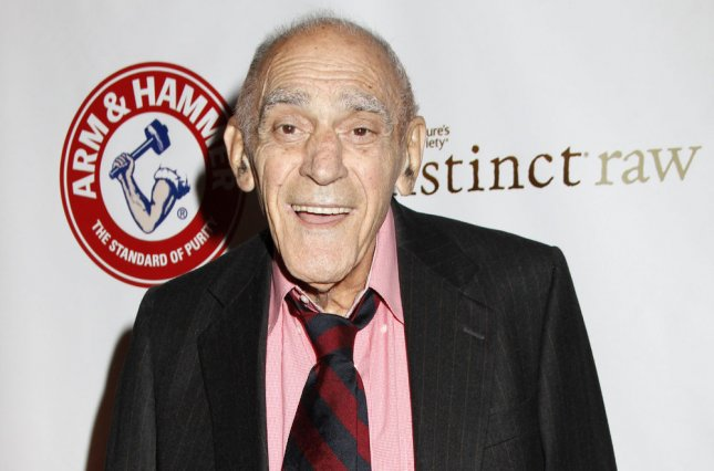 Abe Vigoda arrives for the Friars Club Roast of Betty White at the Sheraton Hotel in New York on May 16, 2012. File Photo by Laura Cavanaugh/UPI