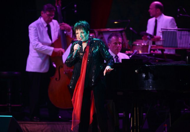 American artist Liza Minnelli performs at Hampton Court Palace in London on June 14, 2012. UPI/Rune Hellestad