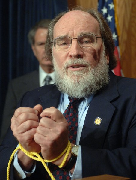 Hawaiian Gov. Neil Abercrombie says President Obama's birth certificate is written down in state archives, but conspiracy theorists say they have yet to see it. (UPI Photo/Roger L. Wollenberg)