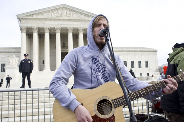 A Christian-Rock band plays for Pro-Life protesters in front of the U.S. Supreme Court on the 37th Anniversary of the Roe v Wade Supreme Court ruling on Capitol Hill in Washington on January 22, 2010. UPI/Madeline Marshall