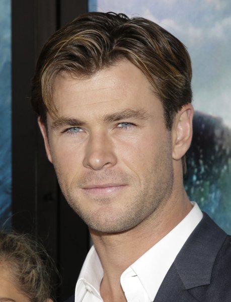 Chris Hemsworth arrives on the red carpet at the New York premiere of In the Heart of the Sea on December 7, 2015. File Photo by John Angelillo/UPI
